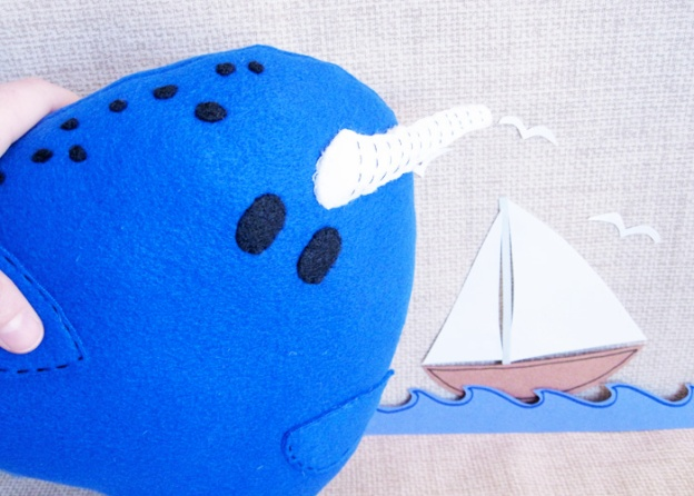 new in the shop: blue narwhal