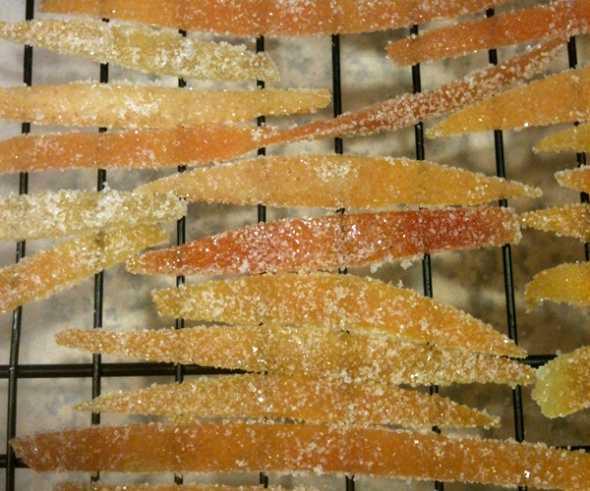 candied citrus