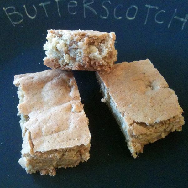 butterscotch brownie 1