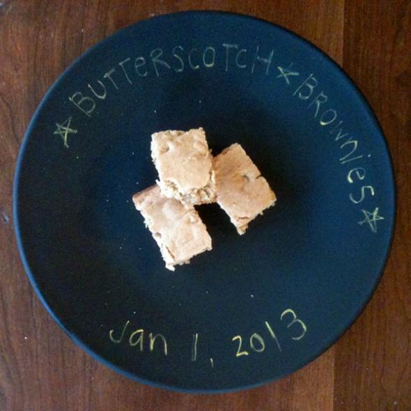 butterscotch brownies 2