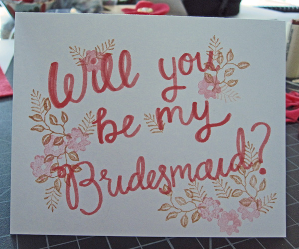 bridesmaid copy