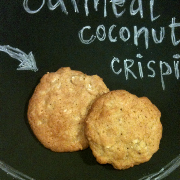 coconut oatmeal cookies 1
