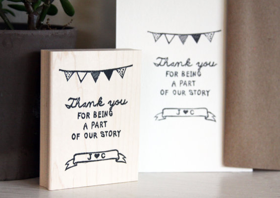 stamp wedding 1