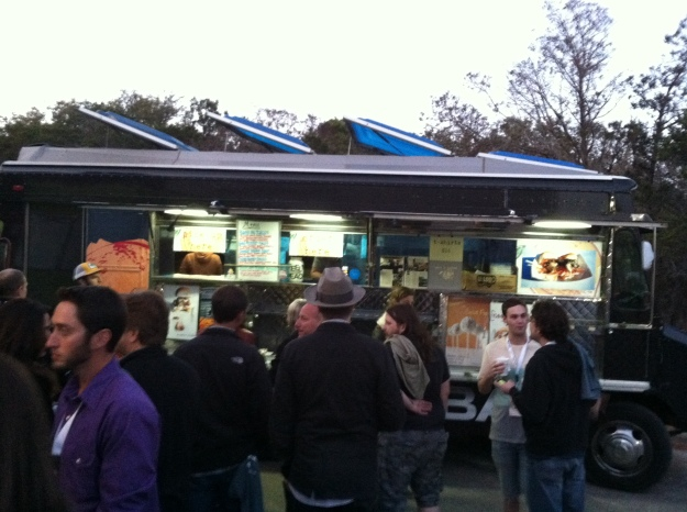 The Peached Tortilla food truck was in attendance and had their usual great tacos and brussel sprouts with bacon jam.