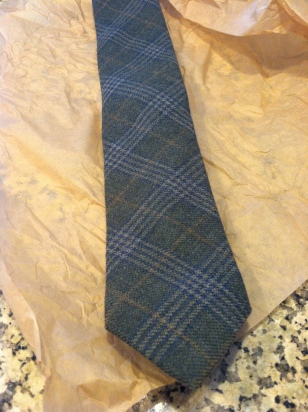 You never know when you'll need a back-up tie!