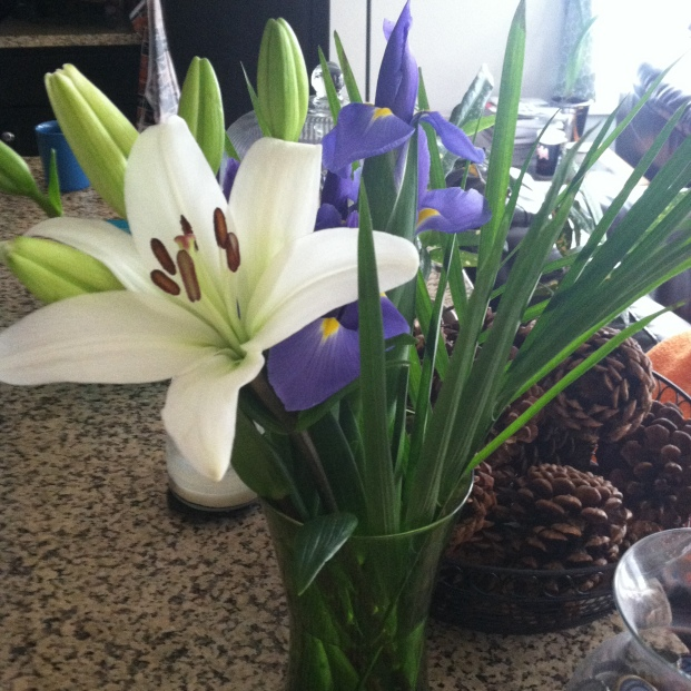 4 flours bloomed. 4 to go.