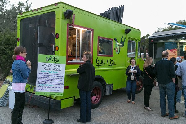 Guac N Roll was there and we got to try all three kinds of guacamole they had. Who doesn't love avocado?