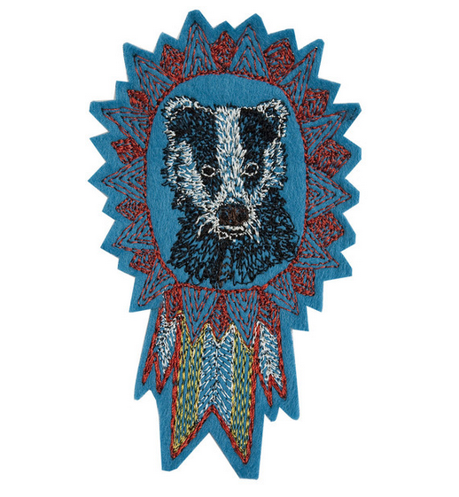 badger badge