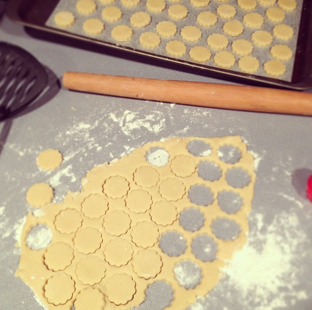 mass production of cookies