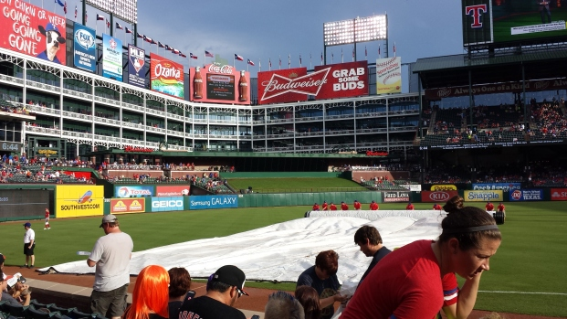 Nice view from the 3rd base side.