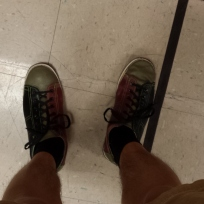 Bowling shoes never go out of style.