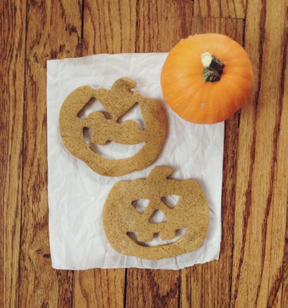 jackolantern cookies