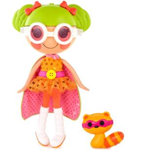 lalaloopsy orange raccoon