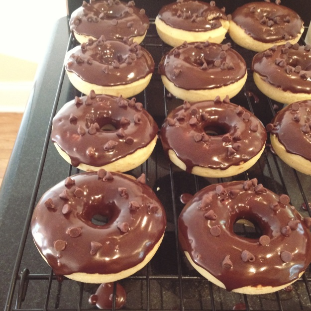 chocolate frosted donut 3