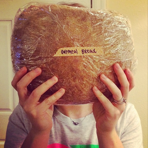 bread as big as your face