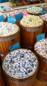 Barrels and barrels of amazing taffy.