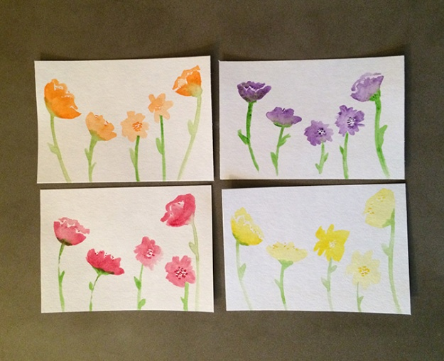 watercolorflowercards