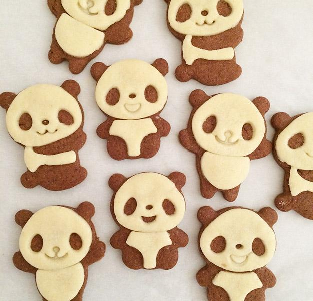 panda cookies 1