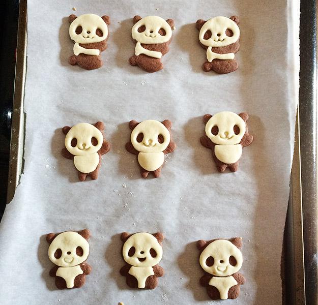 panda cookies 2